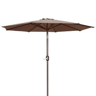 Alcott Hill Milligan Hexagonal Outdoor Garden Patio Market Umbrella