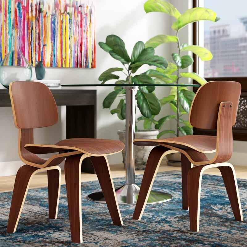 Corrigan Studio Anika Solid Wood Side Chair
