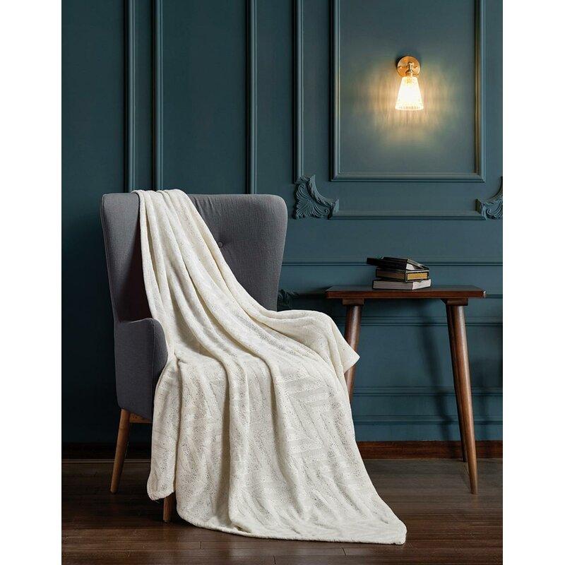 Union Rustic Fellman Luxury Brushed Textured Throw Wayfair