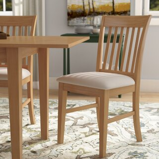 Antonio Solid Wood Dining Chair (Set of 2) by Andover Mills SKU:EE549686 Description