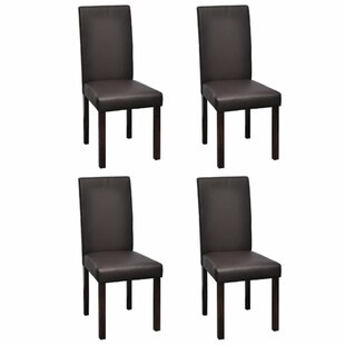Rosita Upholstered Dining Chair (Set of 4) Ebern Designs