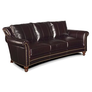 Richardson Leather Sofa by Bradington-Young