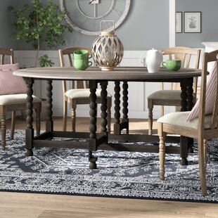 Largent Drop Leaf Dining Table by Ophelia & Co. Newt