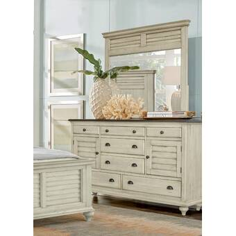 Gracie Oaks Bronstein 7 Drawer Double Dresser Wayfair