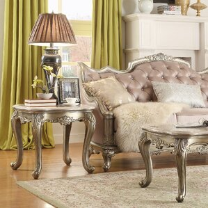 Chaparral End Table by World Menagerie