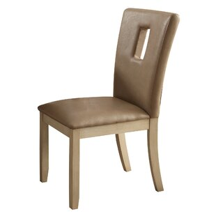 Neponset Rectangle Cut-out Backrest Side Chair (Set of 2)