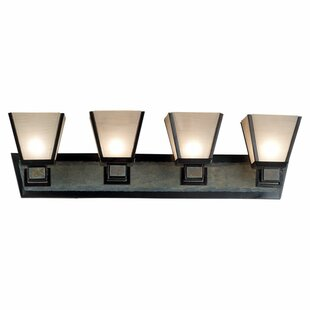 Wildon Home ® Clean Slate 4-Light Vanity Light