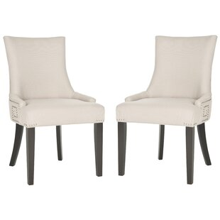 Willa Arlo Interiors Mcdaniel Upholstered Wood Side Chair (Set of 2)
