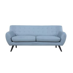 Mid Century Modern Tufted Sofa by Madison Ho..