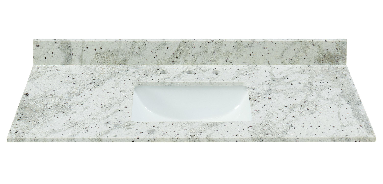 Tile Top Granite 43 Single Bathroom Vanity Top Reviews Wayfair