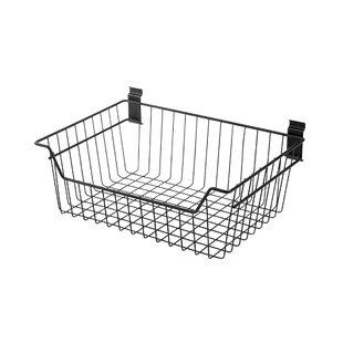 Walltech Metal/Wire Basket (Set Of 2) By Rebrilliant