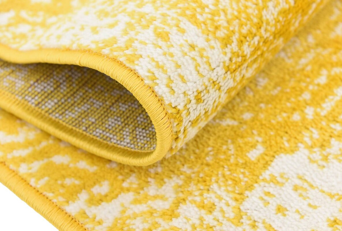 brandt yellow area rug. mistana brandt yellow area rug  reviews  wayfair