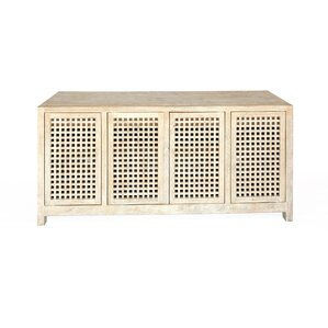 Driftwood Lattice Credenza by Global Views