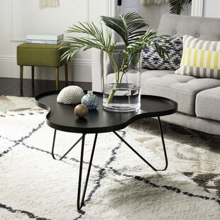 Inexpensive Delphi Coffee Table with Tray Top ByIvy Bronx