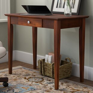 Bovina Solid Wood Writing Desk by DarHome Co Savings
