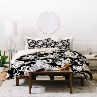 East Urban Home Sketch Duvet Set Image