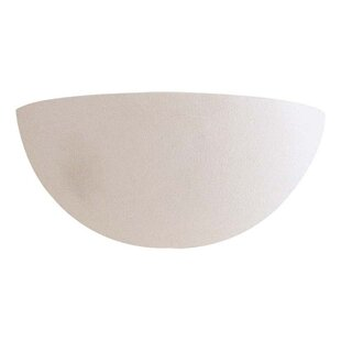 Online Reviews Banks Half Moon 1-Light Wall Sconce By Ebern Designs