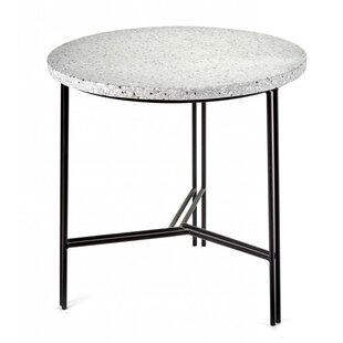Timmins Terrazzo End Table by Wrought Studio Herry Up