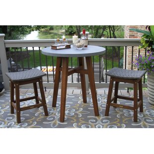 Jeffers 3 Piece Bistro Set