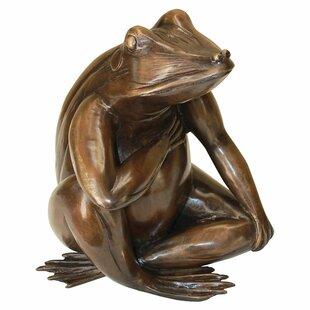Design Toscano Forever in my Heart: Frog Garden Statue