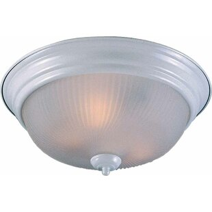 3-Light Ceiling Fixture Flush Mount by Volume Lighting