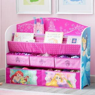 Price Check Disney Princess Deluxe Book Toy Organizer By Delta Children