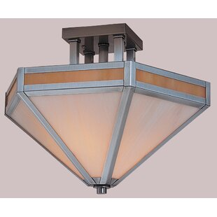 Etoile Inverted Semi Flush Mount by Arroyo Craftsman