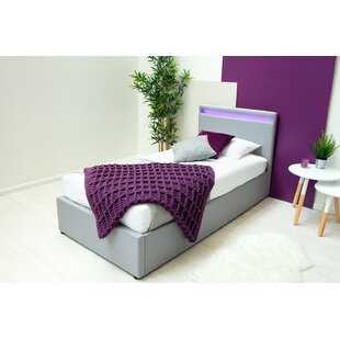 Meriwether Upholstered Bed Frame With Mattress By Ebern Designs
