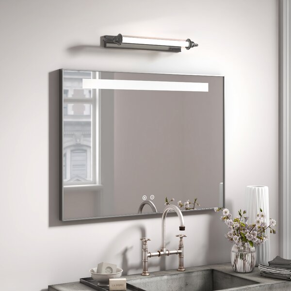Groovy Heated Bathroom Mirror Wayfair Co Uk Download Free Architecture Designs Sospemadebymaigaardcom