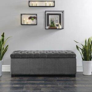 Mabel Shoe Upholstered Storage Bench