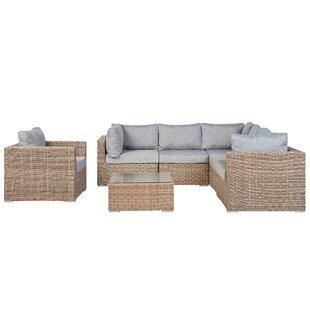 Wynnfield 6 Seater Rattan Sofa Set Image