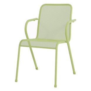 Compare Price Satterwhite 4 Piece Stacking Garden Armchair Set (Set Of 4)