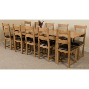 Kenia Dining Set With 10 Chairs By Rosalind Wheeler