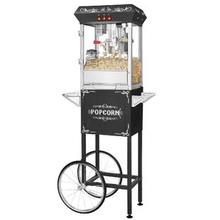8 Oz. All-Star Popcorn Popper Machine And Cart by Great Northern Popcorn New Design