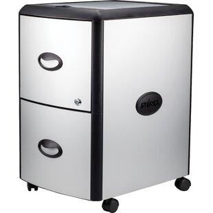 Rebrilliant 2-Drawer Mobile Vertical Filing Cabinet