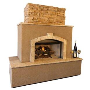 Kokomo Grills Tuscan Concrete Gas Outdoor..