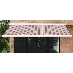 Sunjoy 16 ft. W x 10 ft. D Retractable Patio Awning