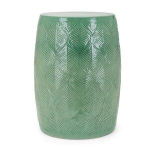 Best Garden Stool Brands 2021 Bungalow Rose Mcclintock Ceramic Glazed Garden Stool