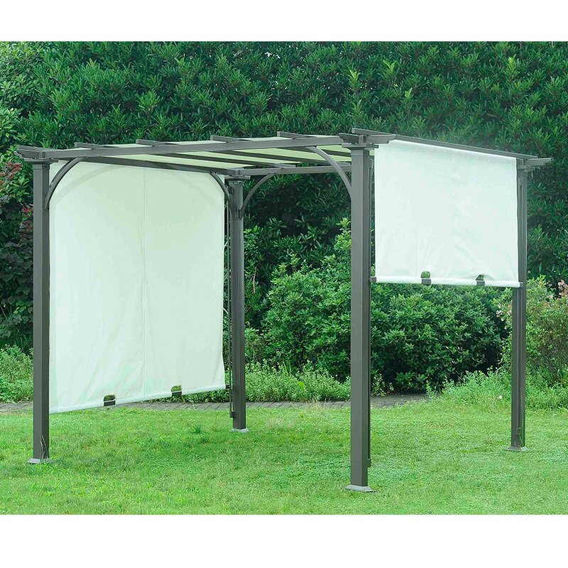 Replacement Canopy for 8u0027 W x 8u0027 D Adjustable Shade Pergola & Sunjoy Replacement Canopy for 8u0027 W x 8u0027 D Adjustable Shade Pergola ...