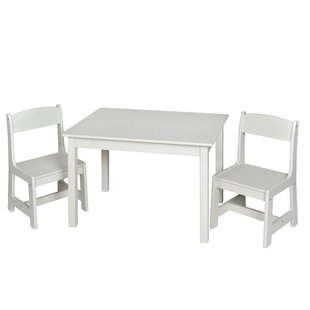Chatham Square Kids Rectangle Table and Chair Set by Harriet Bee