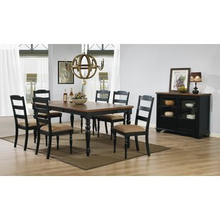 Three Posts Pineview 7 Piece Dining Set