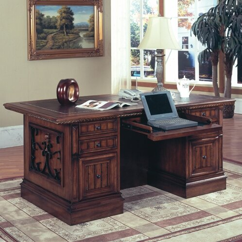 Barcelona Double Pedestal Executive Desk