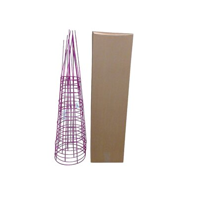 Plant Support Glamos Wire Size: 54 H x 16 W x 16 D, Color: Fuchsia