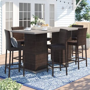 Stratford 8 Piece Bar Height Dining Set