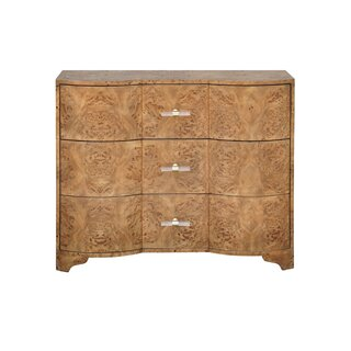 3 Drawer Accent Chest by Worlds Away SKU:ED463820 Buy