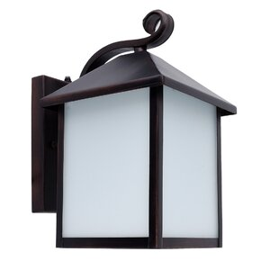 Reviews Emily 1-Light Outdoor Wall Lantern By Whitfield Lighting