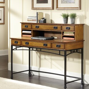 Senda Writing Desk with Hutch