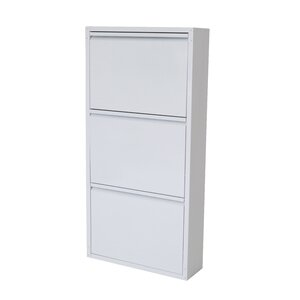 Three Drawer Shoe Cabinet