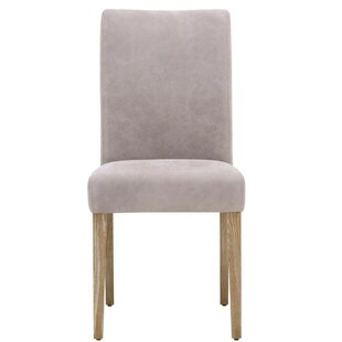 Aryan Wooden Upholstered Dining Chair (Set of 2) Foundry Select