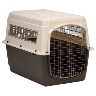 X-Large Vari Ultra Fashion Dog Kennel® in Bleached Linen and Coffee Ground by Petmate